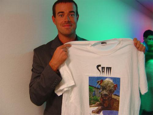 Nice shirt Carson Daly!