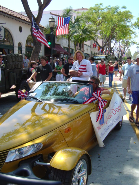Santa Barbara's 4th of July Parade